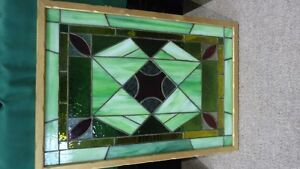 antique stained glass window film