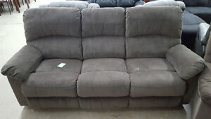 Brown micro fiber couch - Delivery Available
