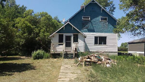 Take on a project or build new! Fixer upper House for sale!