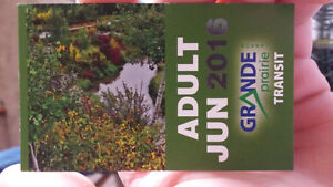 Adult Jun 2016 bus pass