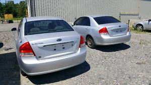 2 identical  2007 Kia spectra for sale.