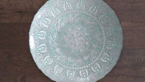 Gorgeous Mint Blue Turkish Plate, Centre Piece Decor