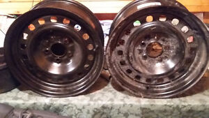 """New Ford 16"""" Steel Rims"""
