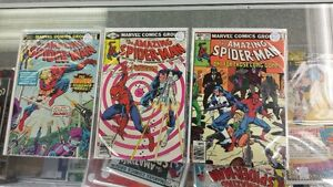 THE AMAZING SPIDER-MAN Comics 153-201-201