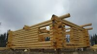Log cabin 32X24 logs only