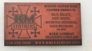 Handmade Leather Products Kitchener / Waterloo Kitchener Area image 1