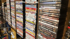 YARDSALE OVER 600 DVDs POPULAR Movies1 each !!!
