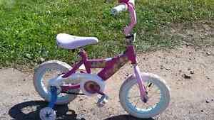 Huffy Princess Bike 12.5 inch Wheels
