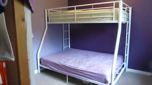 Bunk Bed With Full Mattress For Sale