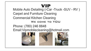 Mobile Auto Detailing / Steam Cleaning Car Truck SUV RV