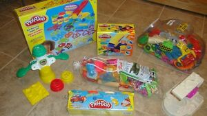 Multiple Play Doh sets