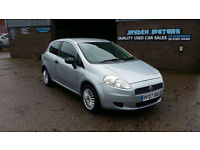 2007 FIAT GRANDE PUNTO 1.2 ACTIVE 3 DOOR,COMPLIMENTED WITH A NEW MOT ON PURCHASE