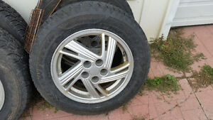 4 x Winter  tires & rims
