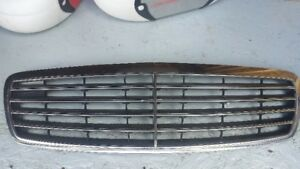 grille chrome mercedes e500
