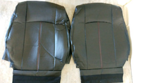 Leather automotive seat covers