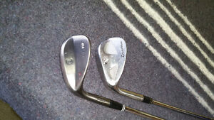 Golf Wedges,Taylor Made and Cleveland, left hand
