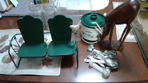 Assortment of  items