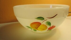Fire King Milk Glass Mixing Bowl