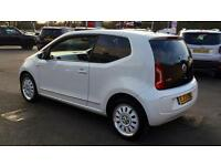 2013 Volkswagen Up 1.0 Up White 3dr Manual Petrol Hatchback