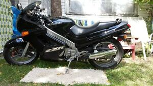 Kawasaki Ninja.Sold.thankyou to everyone who responded.