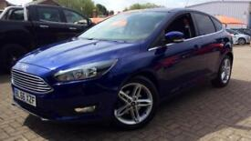 2017 Ford Focus 1.0 EcoBoost 125 Zetec (Nav) 5 Manual Petrol Hatchback
