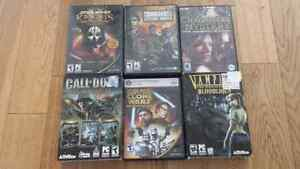 PC games. Complete.