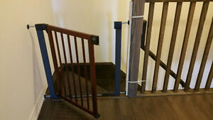 baby gate munchkin with extra item to use it without screws