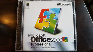 Microsoft Office 2000 Pro, sealed, never activated
