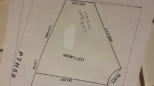 Build your dream home on treed lot