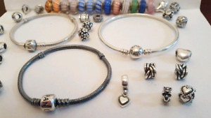 Authentic Pandora Bracelets, Bangles and Charms