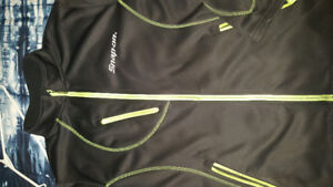 Snap On lethal jacket black and lime green