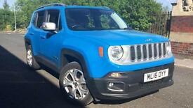 2016 Jeep Renegade 2.0 Multijet Limited 5dr 4WD Manual Diesel Hatchback