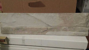 Fireplace stone tile 33 Sq ft