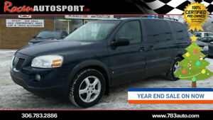 YEAR END SALE!!!  CERTIFIED 2009 MONTANA SV6  - EXT - YORKTON