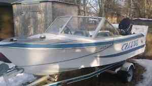 Trade for aluminum boat or 1200 cash