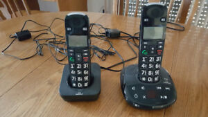 Clearsound Cordless Phone with Answering Machine - Seniors