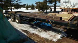 4 year old flatbed trailer 3500 OBO
