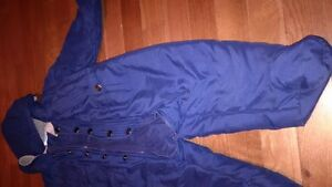dark blue 12 month snow suit - can meet in bedford or downtown