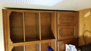 Book cases and Closet unit for Sale