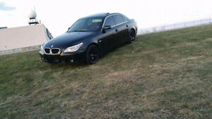 2006 BMW 5-Series 7200$ ferme  modèle rare Berline