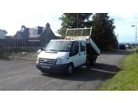 Ford Transit 2.4TDCi Duratorq Tipper# Only 59k miles#
