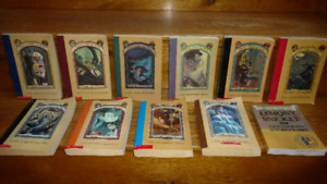 Series of Unfortunate Events #1-10 + Lemony Snicket Biography