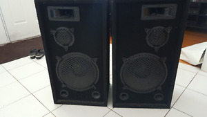 Pair of Passive Speakers - Perfect Working Condition