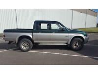 2005 55 Plate Mitsubishi L200 4Life Double Cab 4 Life Pick up