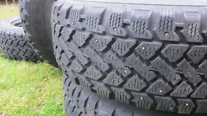 215/65R16 studded winter tires on rims St. John's Newfoundland image 3