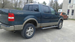 2005 F150 Lariat Supercab 4 wheel drive