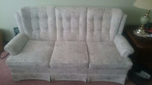 Couch and Chair Set Peterborough Peterborough Area image 1