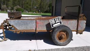 Wood/ dirt hauler
