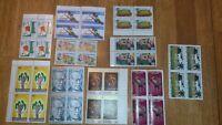 colection de timbres de quelque pays diferent