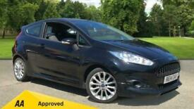 image for 2014 Ford Fiesta 1.0 EcoBoost 125 Zetec S 3dr with Sports Suspensio Hatchback Pe